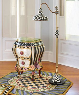 Polka Dot Chandelier Shade - Navy Set Image 1