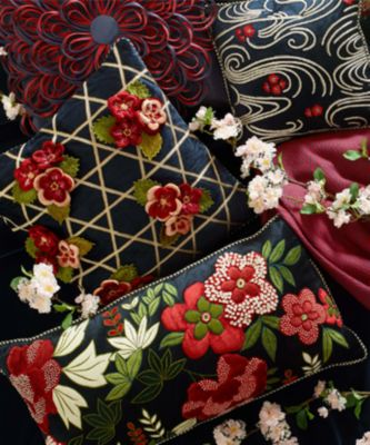 Baker Street Pillow - Black & Red Set Image 1