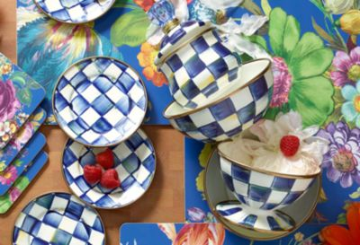 Royal Check Colander - Small Set Image 2