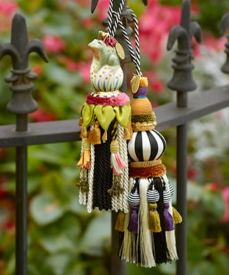 Ceramic Bird Tassel - Rose Set Image 1