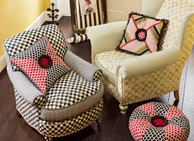 Courtly Check Underpinnings Counter Stool Set Image 0