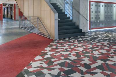Angled Path Luxury Vinyl Flooring Angled