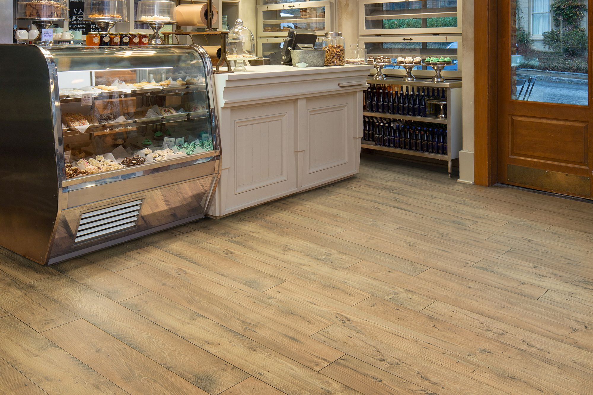 Laminate Flooring Boho Fawn Chestnut Mohawk Group