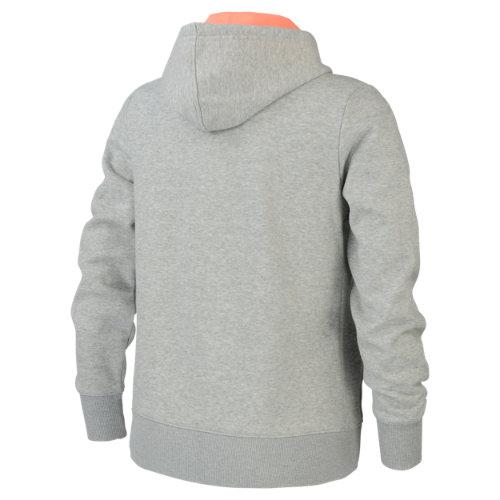 New-Balance-Pink-Ribbon-Volume-Fleece-Full-Zip-Hood-Women-039-s-Jacket-Sportstyle thumbnail 4