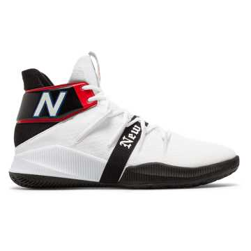 White with Black & Redproduct image
