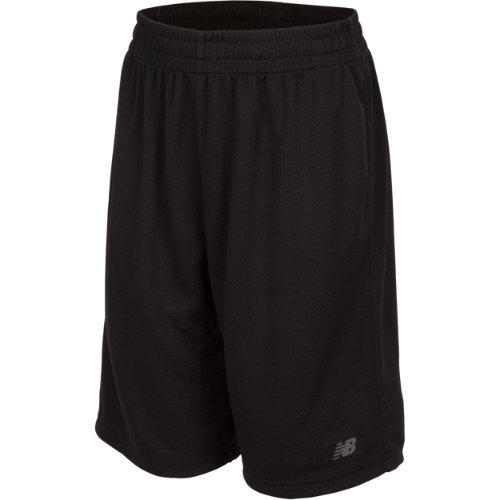 New Balance 16066 Kids' Basic Core Short - Black (BS16066BK)