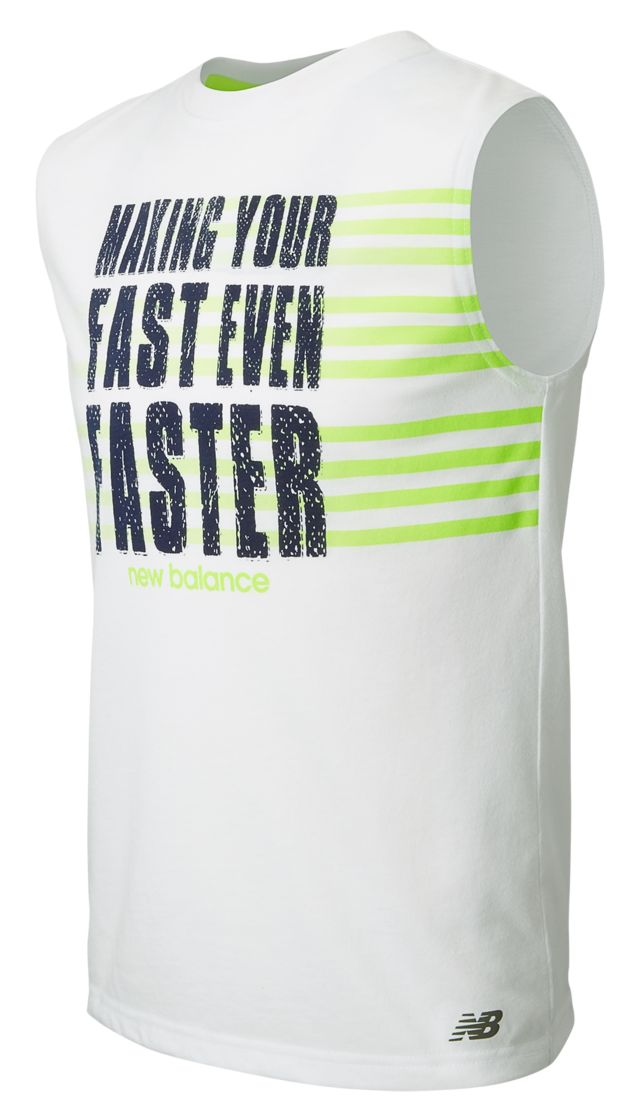 Boys Sleeveless Graphic Shirt