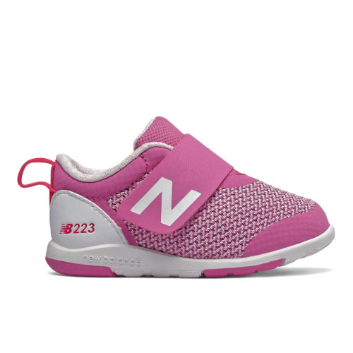 223 Kids' Infant and Toddler Lifestyle Shoes - Pink/White (IO223MGT)