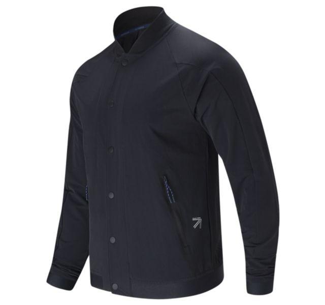 J.Crew Men'sSport Track Coat (Black)