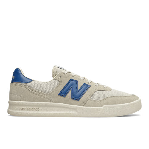 300 Men's Court Classics Shoes - Off White/Blue (CRT300YC)