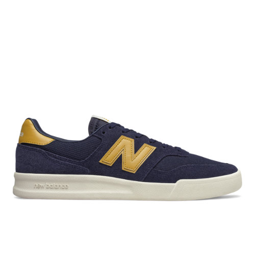 300 Men's Court Classics Shoes - Navy/Yellow (CRT300YV)