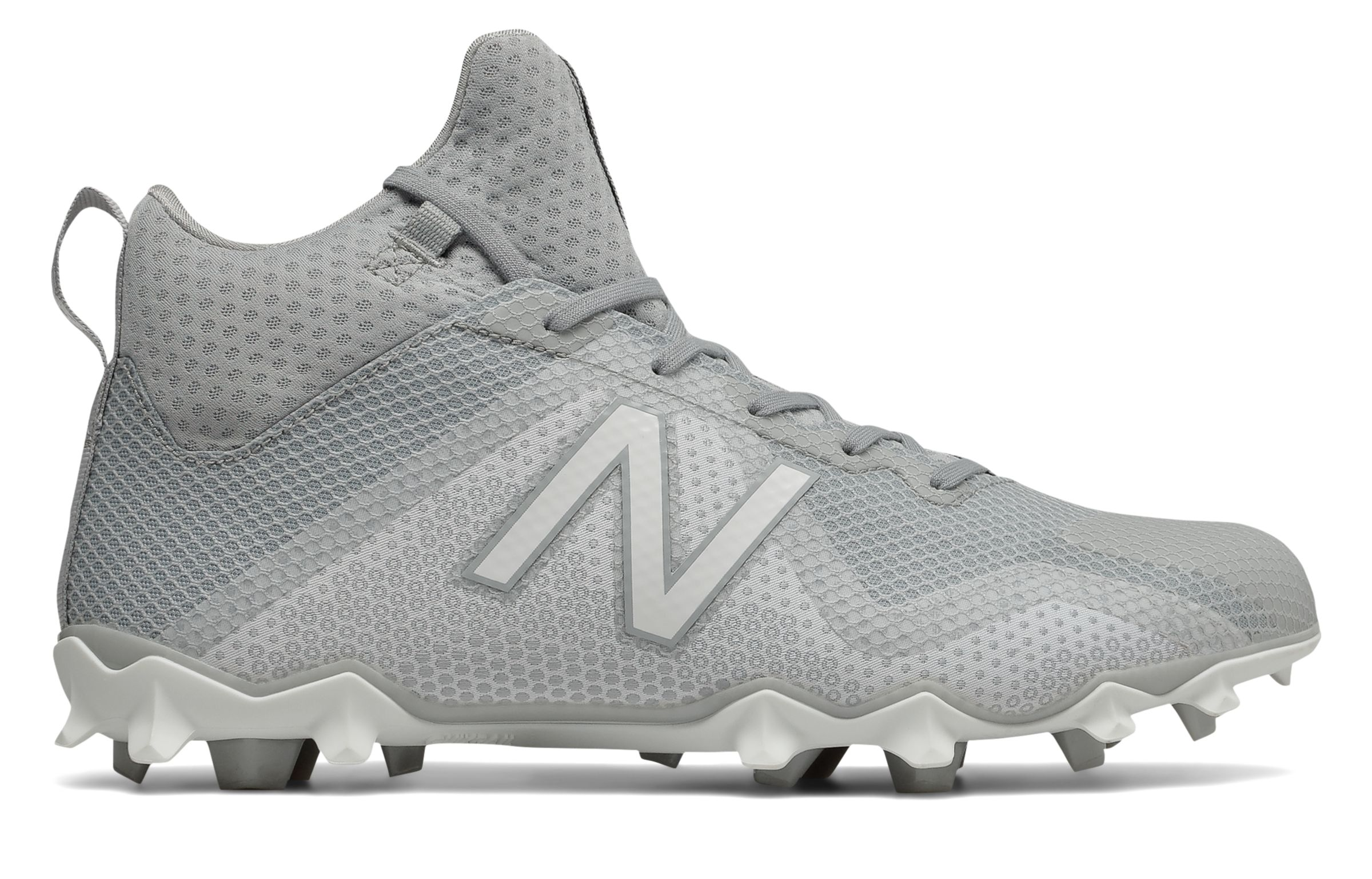 d28a7981b572 New Balance Male Men's Freezelx Lacrosse Cleat Adult Shoes Grey With ...