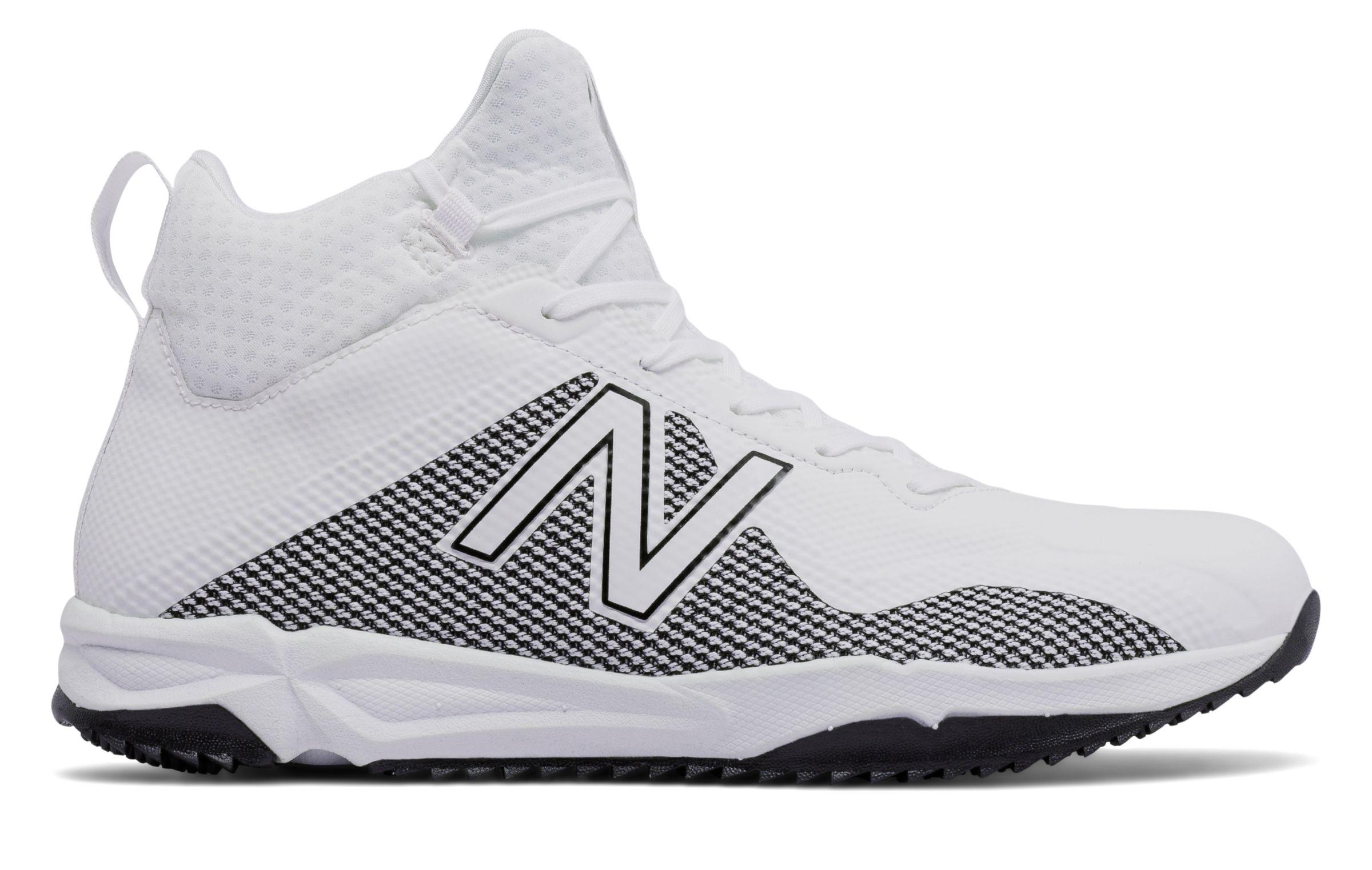7dfe51465576c New Balance Men's Freezelx Lacrosse Turf Comfortable Shoes White ...