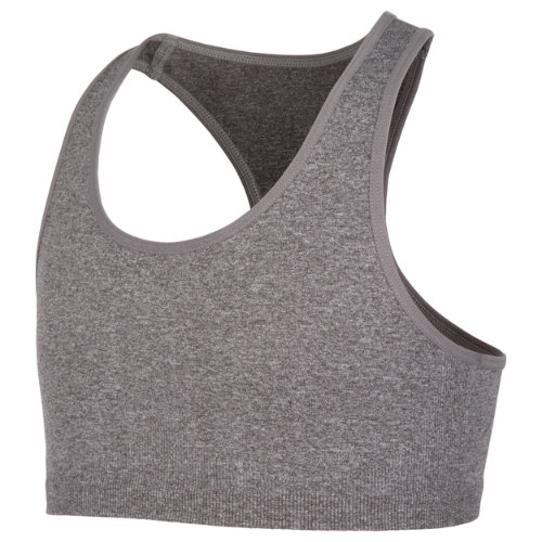 New Balance 10412 Kids' Core Racer Back Seamless Bra - Grey (GB10412GH)