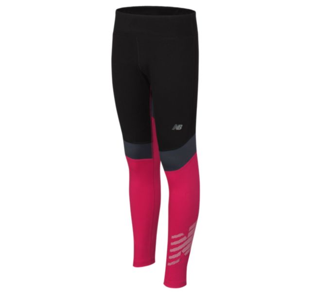 Girl's Pieced Performance Tights