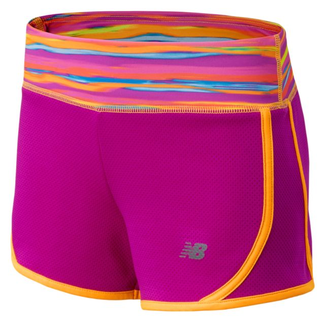 Girls Knit Running Short