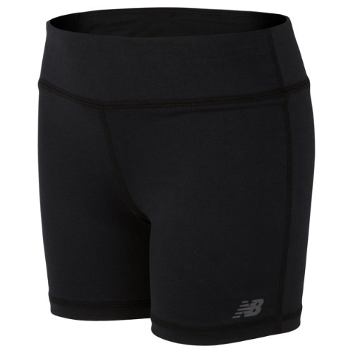 New Balance 14513 Kids' Core Bike Short - Black (GS14513BK)