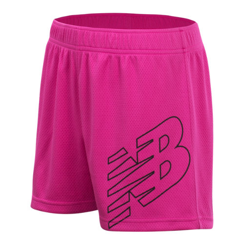New Balance 18229 Kids' Core Performance Short - Pink (GS18229CAP)
