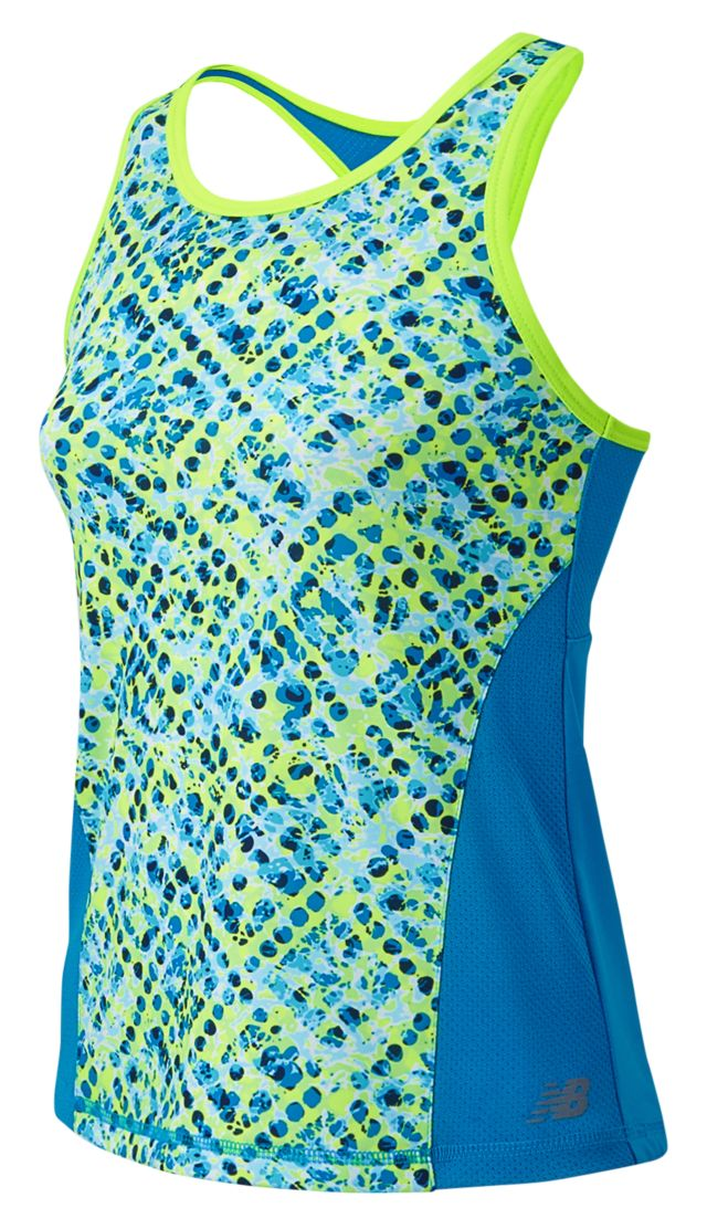 Kid's Fashion Performance Printed Tank