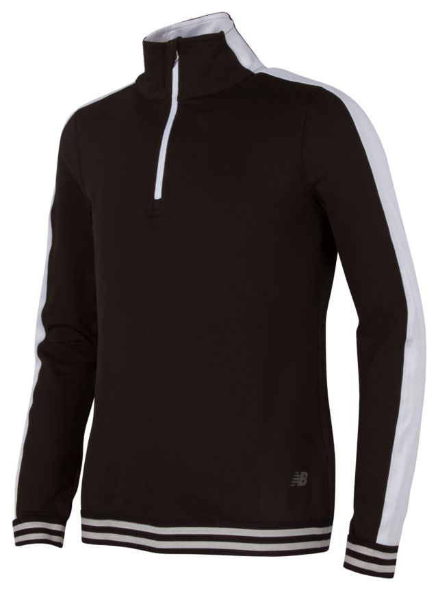 Girl's Long Sleeve Quarter Zip Performance Top