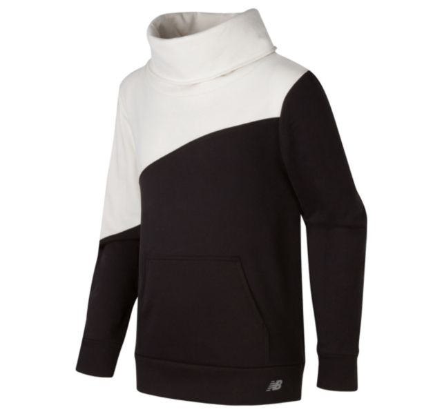 Girl's Funnel Neck Pullover