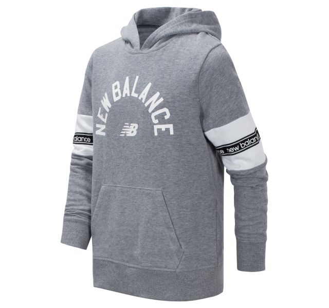 Girl's Brushed French Terry Hooded Pullover