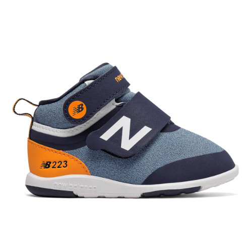 223 Kids' Infant and Toddler Lifestyle Shoes - Navy/Orange (IO223HNV)