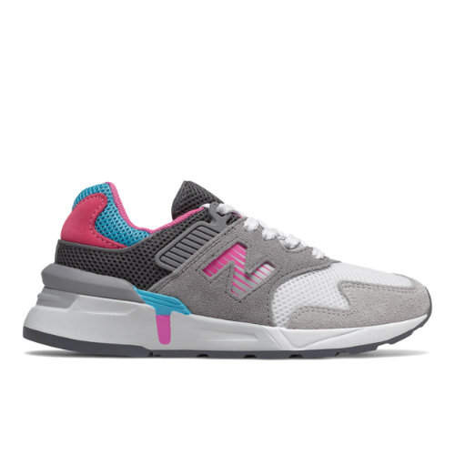 997 Sport Kids' Infant and Toddler Lifestyle Shoes - Grey/Pink/Blue (IS997JCH)