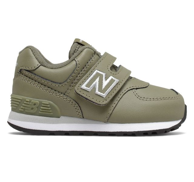 New Balance Infant 574 Hook and Loop