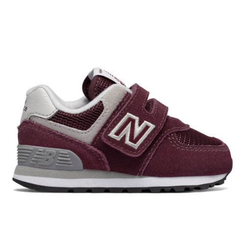 New Balance 574 Core  - Burgundy/Grey (Talla EU 22.5 / UK 5.5)