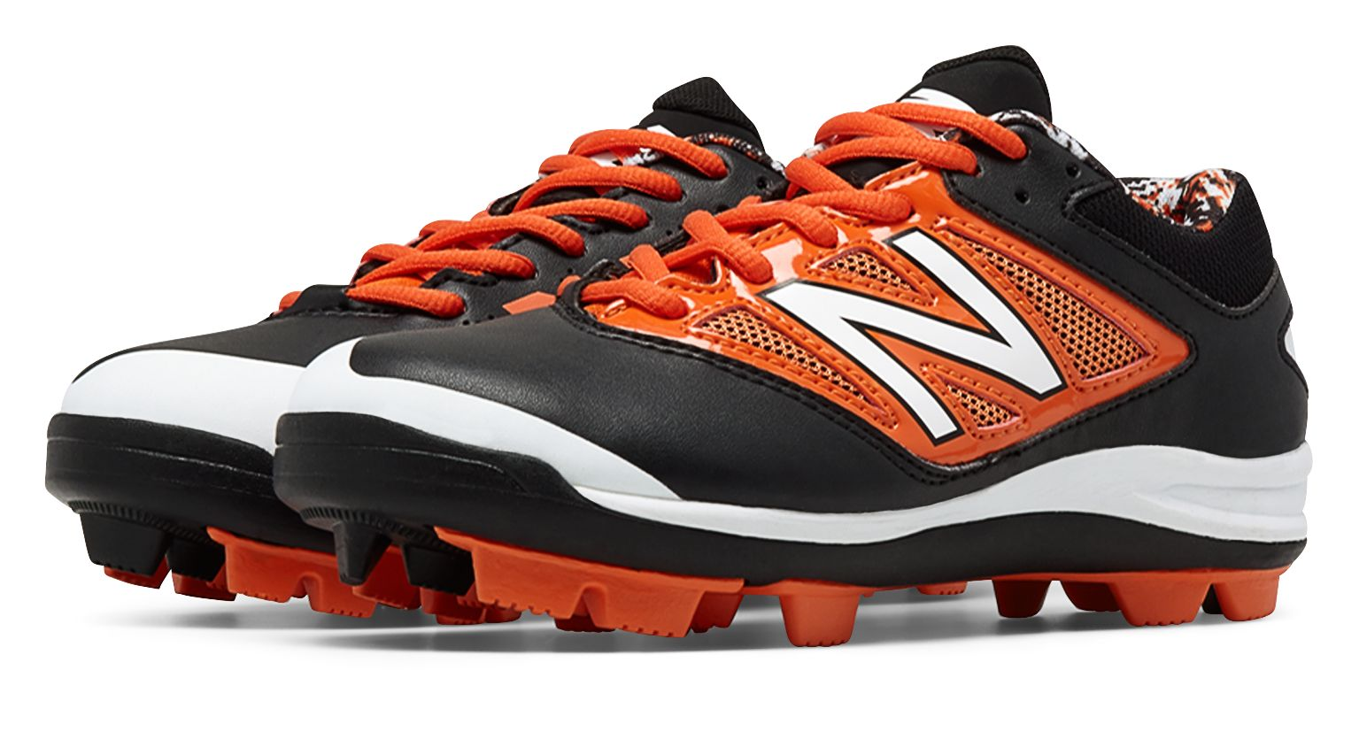 d2d960566c7d New Balance Kid's Low-Cut 4040v3 Rubber Molded Baseball Cleat Big ...