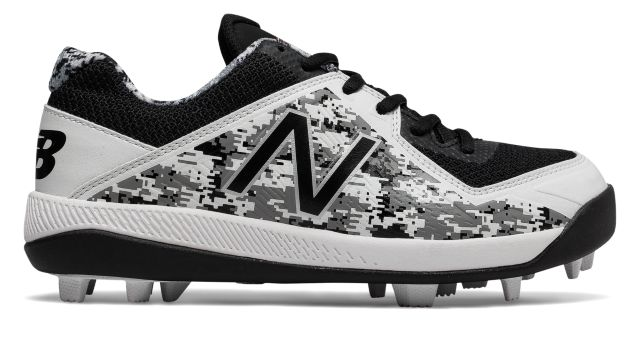 Kid's Low-Cut 4040v4 Pedroia Rubber Molded Baseball Cleat
