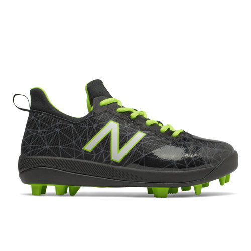Lindor Pro Youth Kids Shoes - Black/Green (JFLPK1)