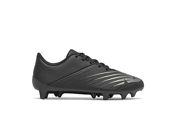 Youth Furon V6+ Dispatch- Firm Ground, Black with Gunmetal