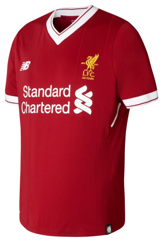 Boy's LFC Junior Home Short Sleeve Jersey