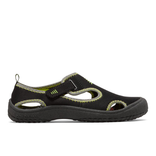 Cruiser Sandal Kids' Pre-School Sandals - Black/Green (K2013BKL)