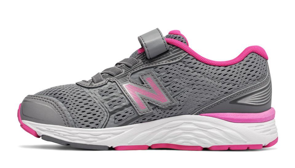 Tenis Running New Balance Hook and Loop 680v5 Niñas