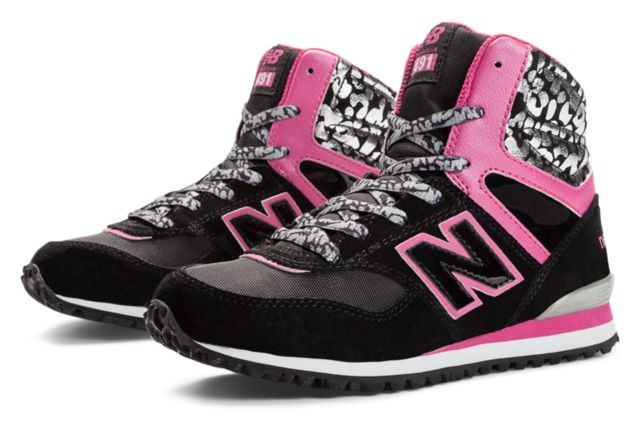Girls New Balance 491 High Top