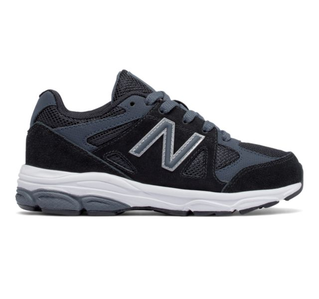 New Balance Boys' 888 Shoes (Black)