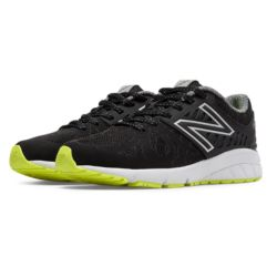 New Balance Vazee Rush Kids Running Shoes (Black/Yellow)