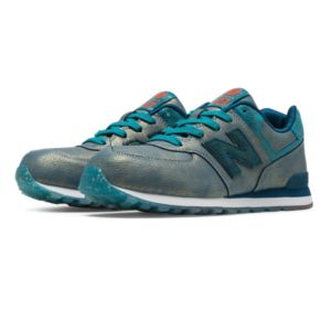 New Balance 574 Mineral Glow Girls Pre School Shoes