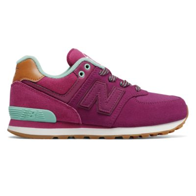 New Balance 574 Collegiate Kids Girls' Outlet Shoes Image