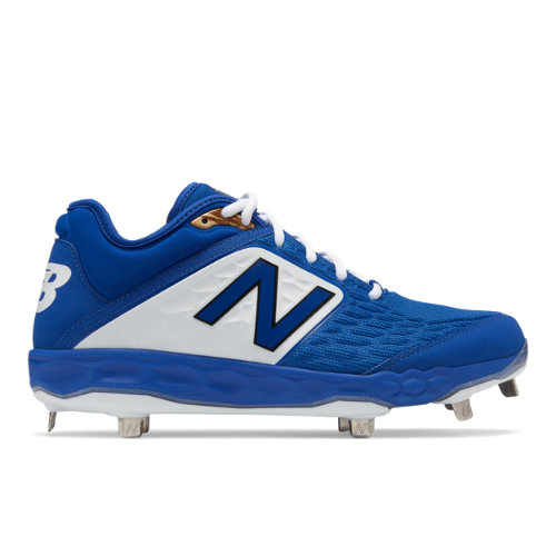 Fresh Foam 3000v4 Metal Men's Cleats and Turf Shoes - Blue/White (L3000TB4)
