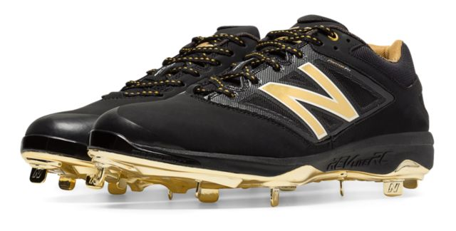 Men's Low-Cut Bold and Gold Hero 4040v3 Metal Cleat