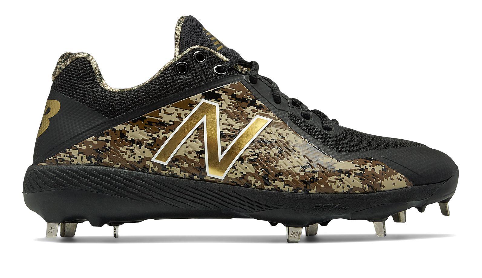 37897f4c6 New Balance Low-Cut 4040V4 Metal Baseball Cleat Adult Shoes Black ...