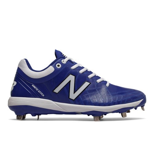 4040v5 Metal Men's Cleats and Turf Shoes - Blue/White (L4040TB5)