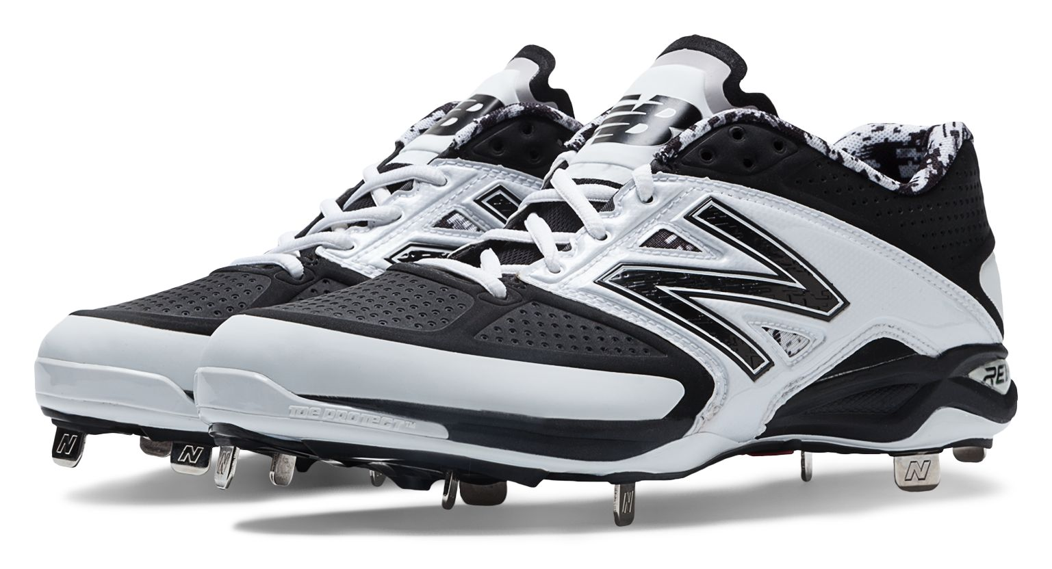 new balance men's 4040v2 low metal baseball cleats