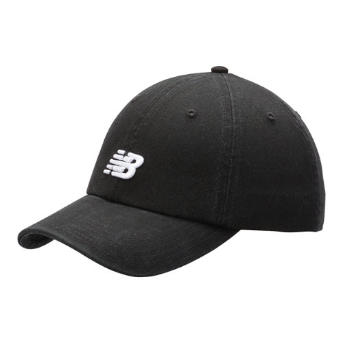 New Balance Men's & Women's Classic NB Curved Brim Hat - Black (LAH91014BK)
