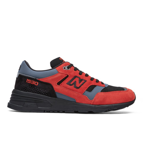 Made in UK 1530 Men's Made in UK Shoes - Red/Black/Grey (M1530LA)