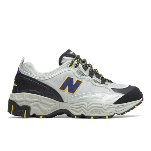 New Balance 801 Men's Running Classics Shoes - Grey/Black/Yellow (M801AT)